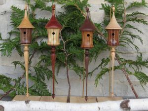 Birdhouse Ornament Collection