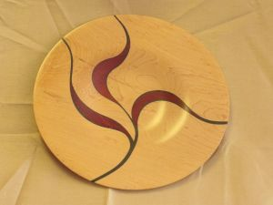 Epoxy Inlay Platter
